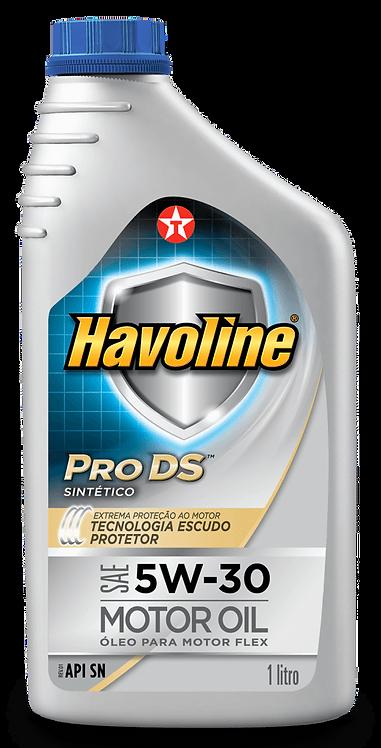 TEXACO HAVOLINE PRODS  SINTETICO SAE 5W30 SN 1Litro