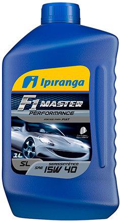 IPIRANGA F1 MASTER PERFORMANCE SAE 15W40 SL 1Litro