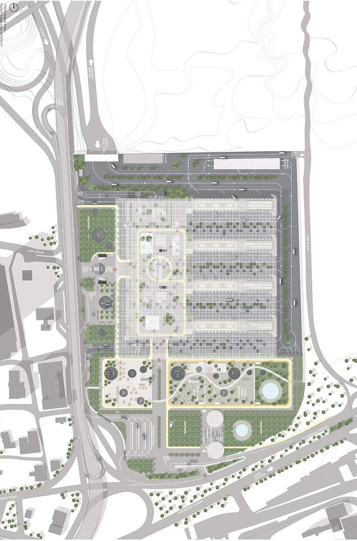 izmir ana transfer merkezi vaziyet planı