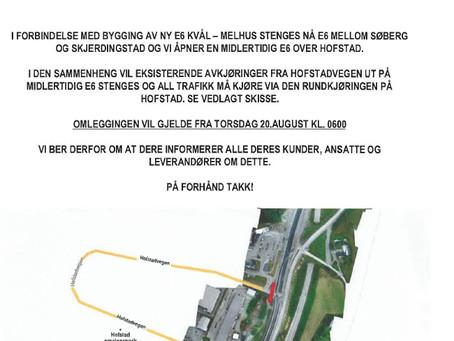 Ny adkomst til Trondheim Stål