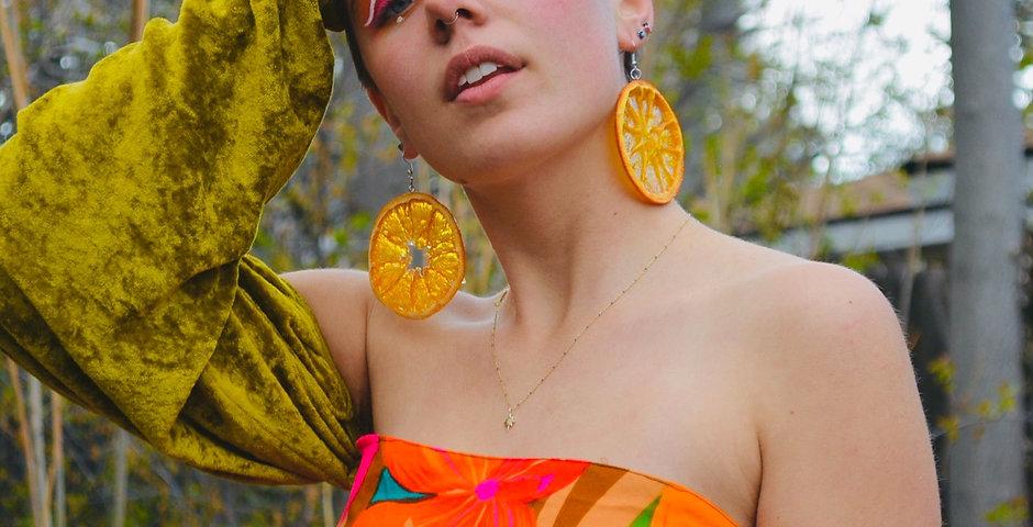 Orange Earrings *Restock July 28th*