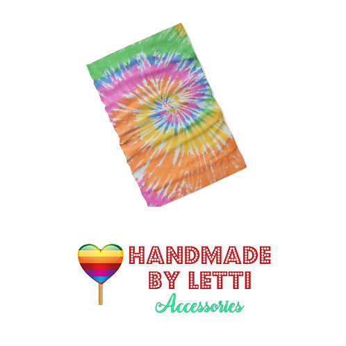 Magic bandana multifunction -tie dye  / polyester Jersey 3d printed