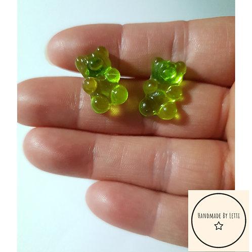 I'm a gummy bear stud earrings / various colours