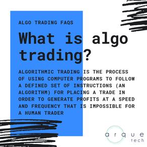 ALGORITHMIC TRADING FAQs