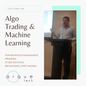 Algo Trading Lecture series