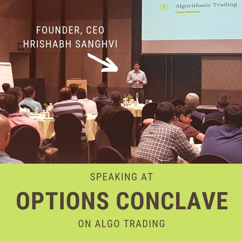 Discussion on Algo Trading with Hrishabh Sanghvi