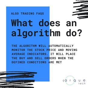 ALGORITHMIC TRADING FAQs #2