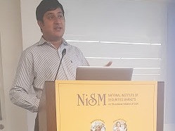 Lecture at National Institute of Securities Markets by Hrishabh Sanghvi