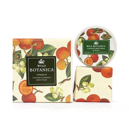 Wild Botanica Cumquat Enrich & Cleanse Pack