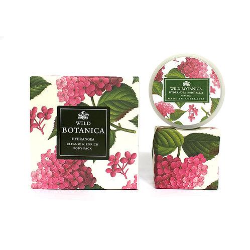 Wild Botanica Hydrangea Enrich & Cleanse pack