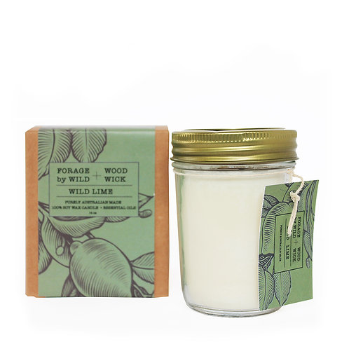 Wild Forage Lime Pure Soy Candle