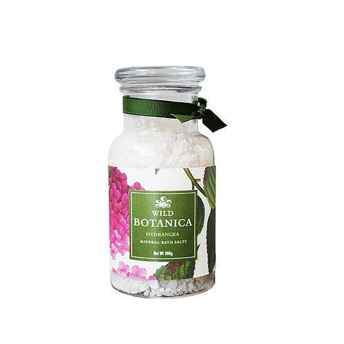 Wild Botanica Hydrangea Mineral Bath Salts