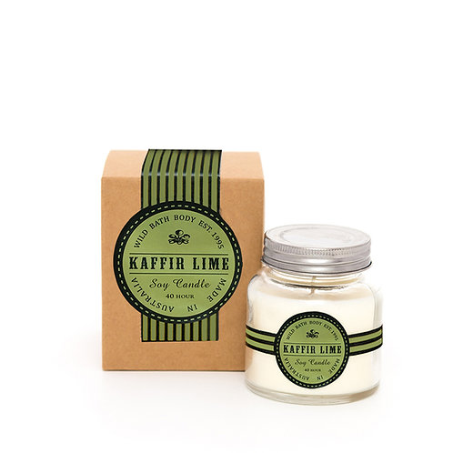 Wild Festive Kaffir Lime Pure Soy Candle