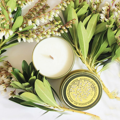 WILD FORAGE Lemon Myrtle Travel Soy Candle