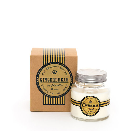 Wild Festive Gingerbread Pure Soy Candle