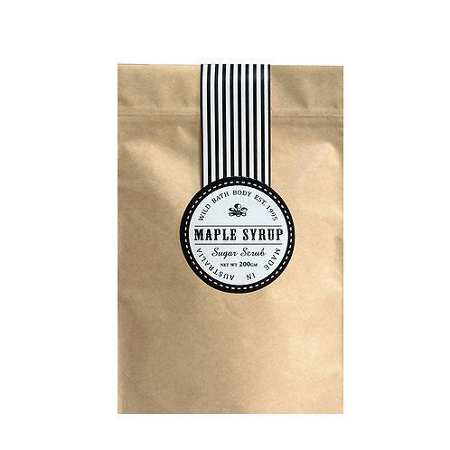 Wild Festive Maple Syrup Coconut Sugar Body Scrub