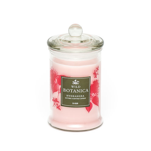 Wild Botanica Hydrangea Pure Soy Candle
