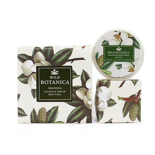 Wild Botanica Magnolia Enrich & Cleanse Pack