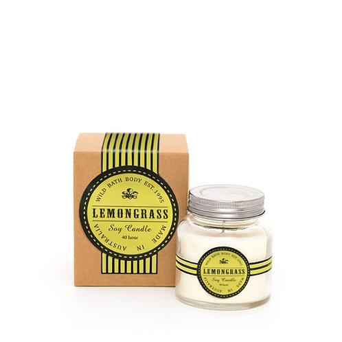 Wild Festive Lemongrass Pure Soy Candle