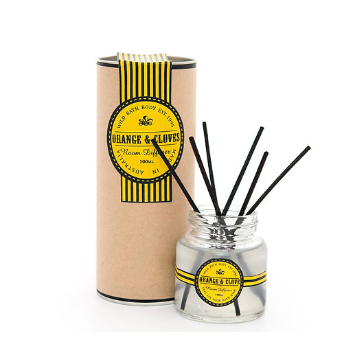 Wild Festive Orange & Clove Room Diffuser