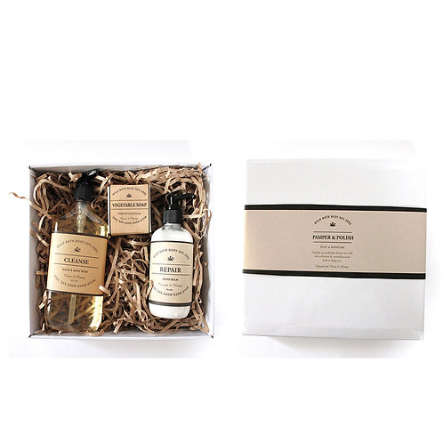 Wild Nourish Indulgence Gift Pack -  Coconut & Lime
