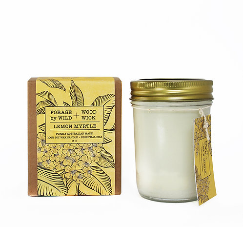 Wild Forage Lemon Myrtle Pure Soy Candle