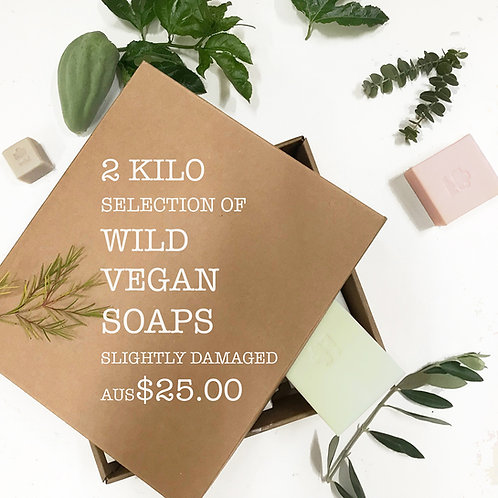 Wild Mystery Box Pure Vegetable Soap 2 Kilo