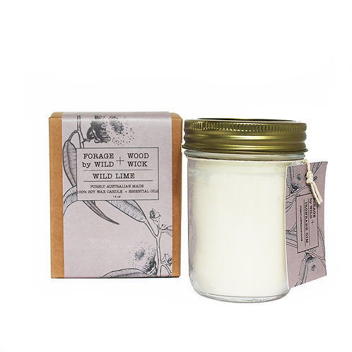Wild Forage Ironbark Gum Pure Soy Candle
