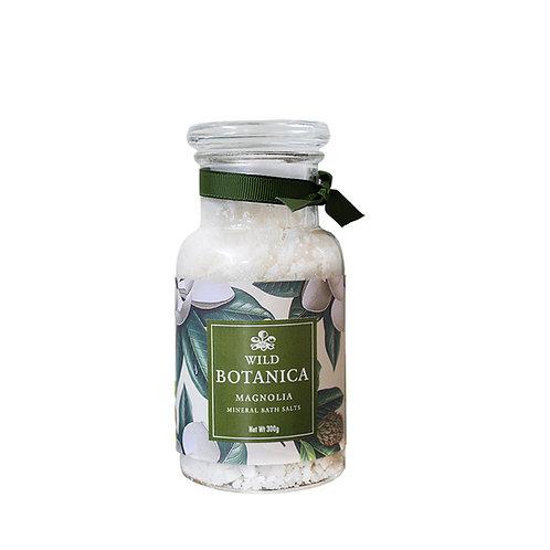 Wild Botanica Magnolia Mineral Bathing Salts