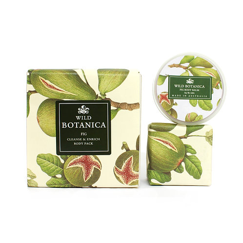 Wild Botanica Fig Body Enrich & Cleanse Pack