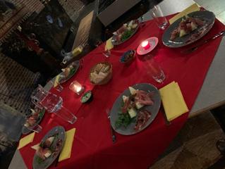 Samen eten in de Sint-Catharinakerk