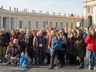 Dak- en thuislozen op bezoek bij de Paus