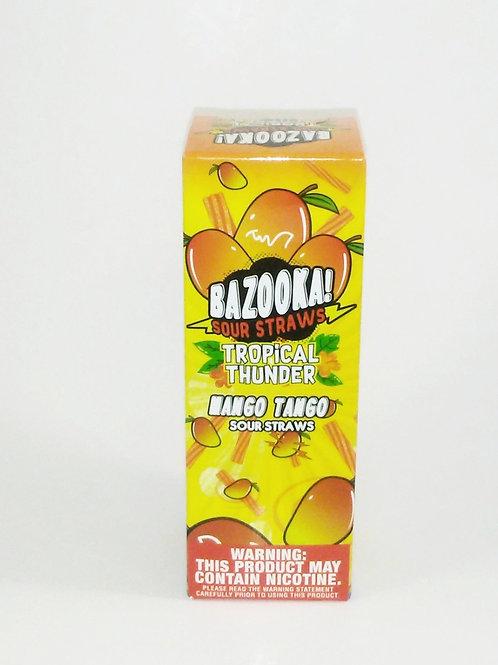 Mango Tango - Bazooka Tropical Thunder Sour Straws E Liquid