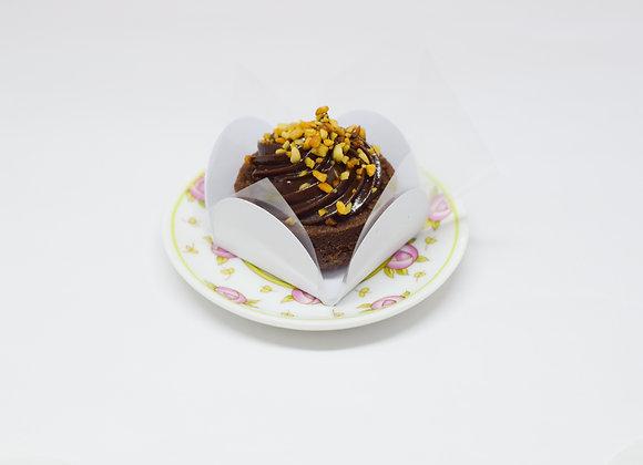Tartalete de Chocolate com Castanha de Cajú