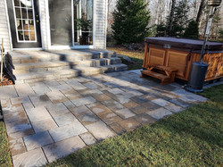 Back Patio, Step and HotTub