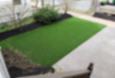 rymar everblade 50 pet friendly front lawn artificial turf green space clean lawn