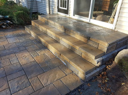 Back Step and Patio