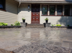 Oldstone Patio, Natural Stone Steps