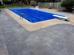 Pool Surround with Oldstone