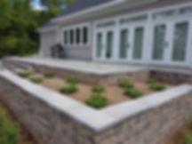 Retaining Walls, gardens, patio, Versa-lok, Blu60 Slate