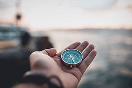 Compass, navigational compass, travel co
