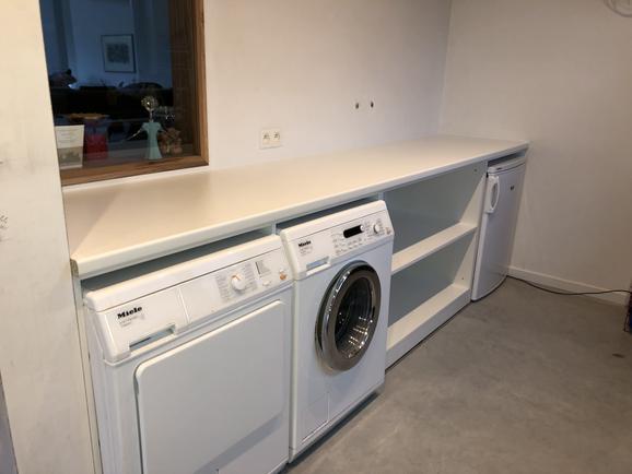 Inrichting van washok