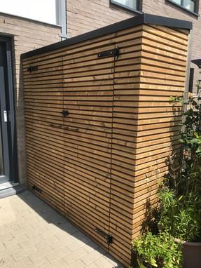 Opbergruimte/tuinhuisje