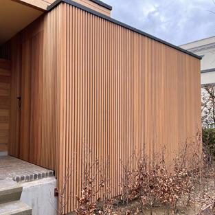 Opbergruimte voor hout