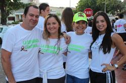 Carlos Perez, Juliana Perez, Monica Navarro y Monica Perez