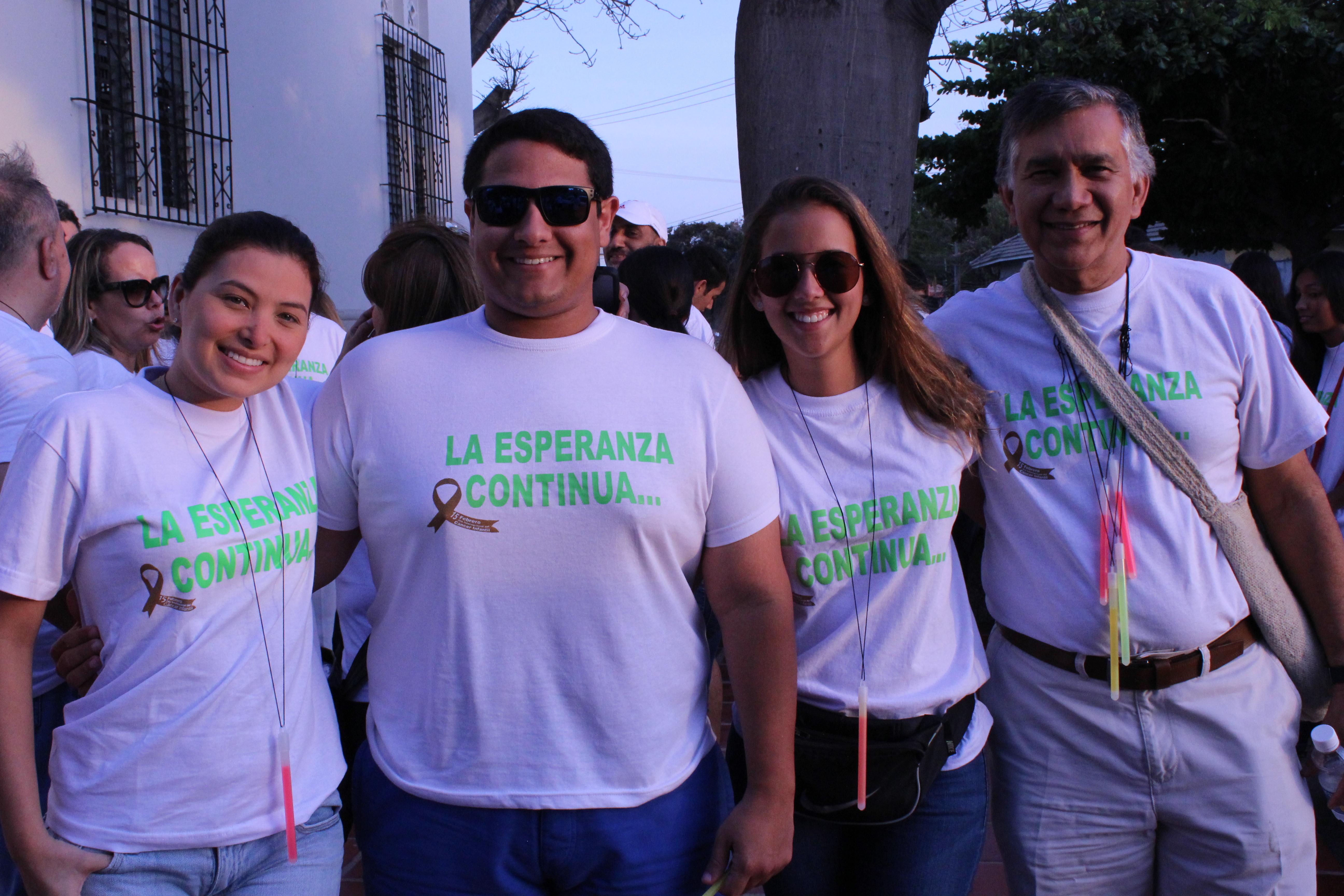Silvana Gonzalez, Leonardo Serje, Lorena Villanueva y Alvaro Villanueva