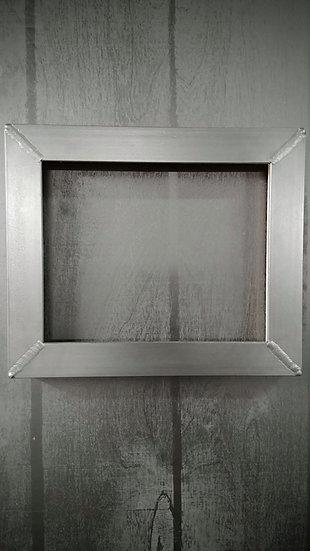 """1.5"""" x 1.5"""" Gunmetal Angle Frame, 8""""x10"""""""