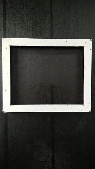 "1"" x 1"" Winter White Angle Frame, 8""x10"""