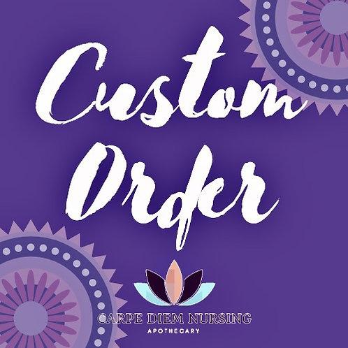 Custom Order for JH