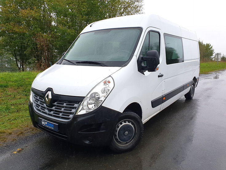RENAULT MASTER 2.3 DCi 130 35 L3H2 CABINE APPROFONDIE 7 PLACES